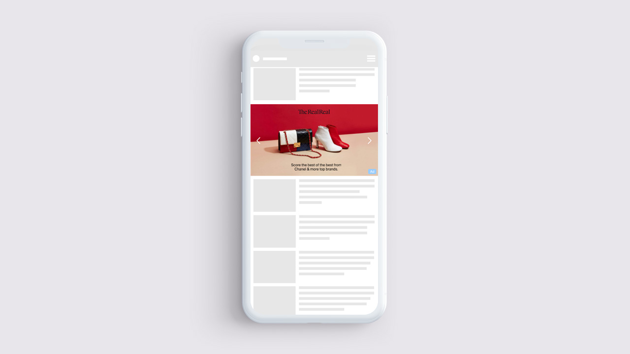 TheRealReal-Shoppable-Apple-News_Device1